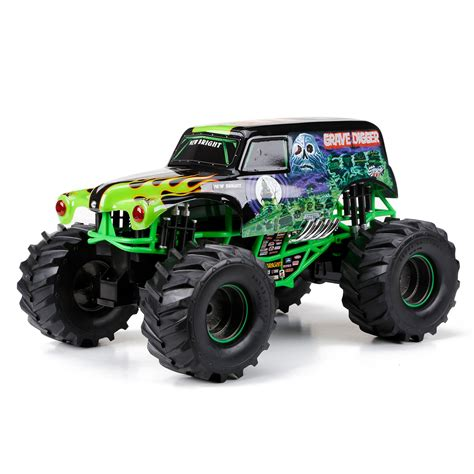 grave digger truck remote bright function jam grave digger remote