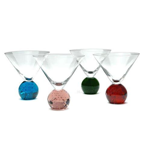 shot glasses set   details stemless martini glasses