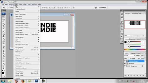 cara membuat outline font pada photoshop cara membuat text mirror pada photoshop cs3 youtube