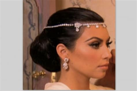 kim k wedding hair most influential celebrity hair 2011 mystylebell your