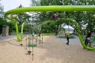 Backyard Climbing Structures by Sculptural Playground In Schulberg By Annabau 171 Landscape