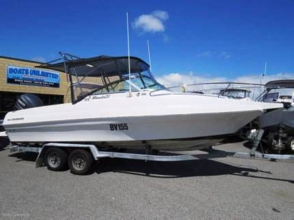 boats unlimited wangara commodore all rounder 670 family fishing diving huge open