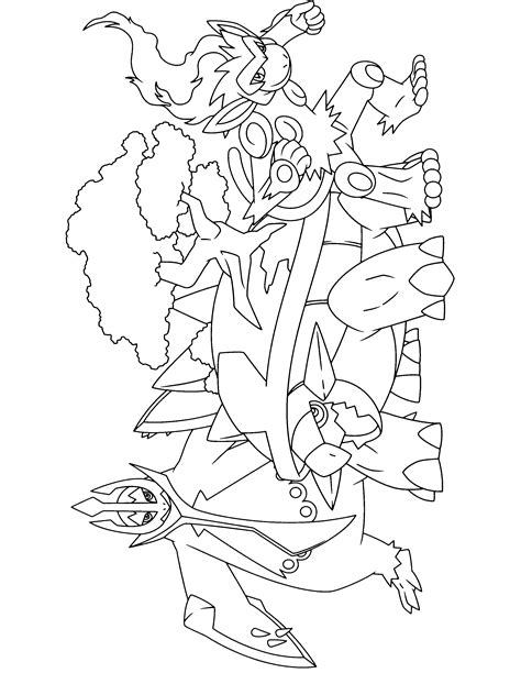 pokemon coloring pages torterra infernape coloring pages leversetdujour info