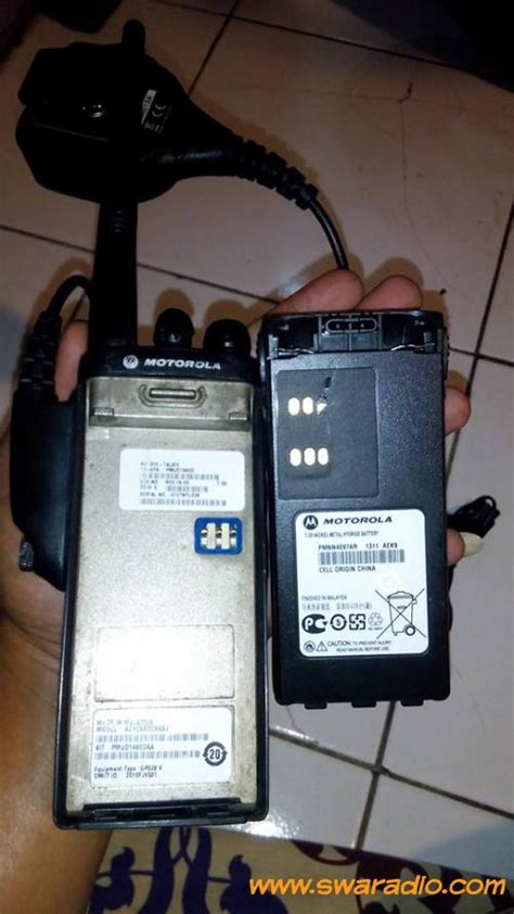 Di Barang Mulus dijual motorola gp328 vhf charger ori barang mulus