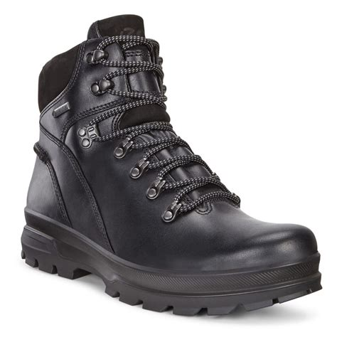 Popular Ecco Rugged Track Sport Outdoor Boots Black Black Rugged Outdoor Boots
