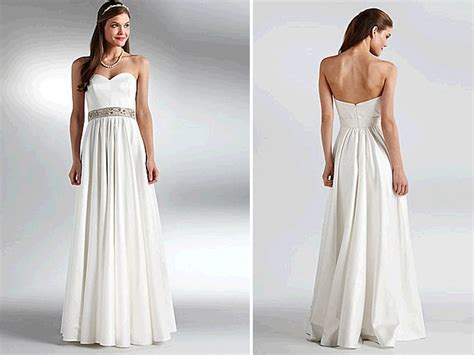classic ivory sweetheart neckline modified a line wedding