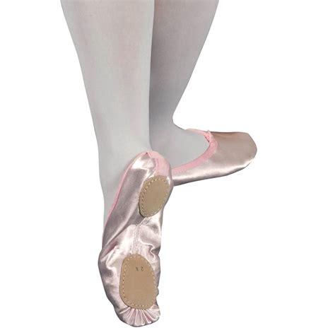 ballet shoes pink pink split sole satin ballet shoes dancewear universe