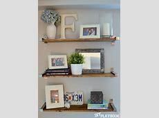 44 Impressive DIY Shelves For Storage & Style - Thrillbites Ikea Floating Shelves Kitchen