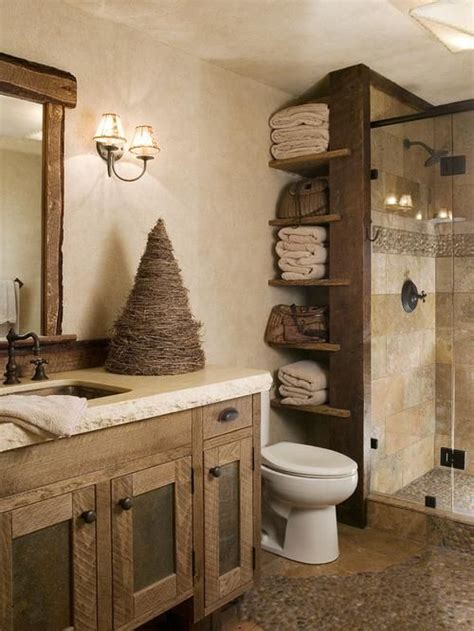 small rustic bathroom ideas rustic small bathroom