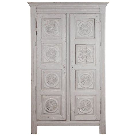 gray armoire french grey wash wardrobe armoire with ornamental carved