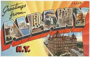 postcards from the past albany all albany