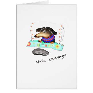 Sick Humor Birthday Cards Sausage Cards Photocards Invitations More