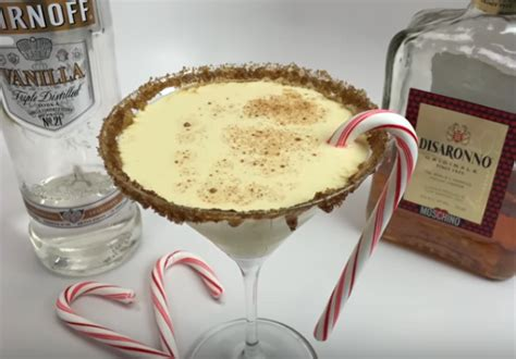 italian eggnog martini top shelf pours