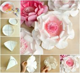 giant tissue paper flowers video instructions the whoot