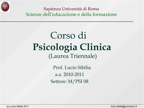 dispense psicologia psicologia clinica dispense