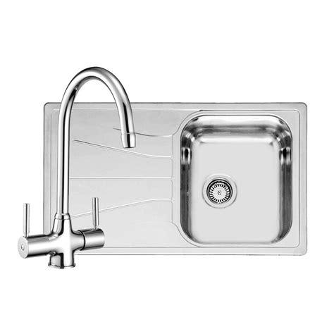 sink taps kitchen reginox diplomat 10 sink with free thames tap sinks taps com