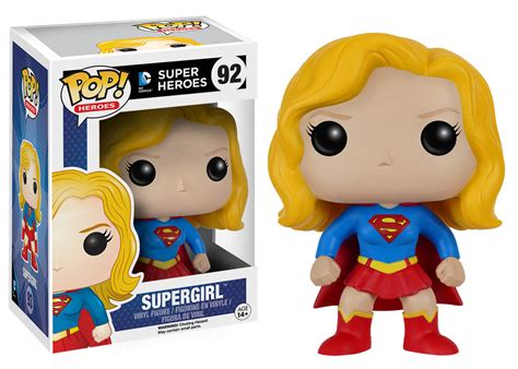 Funko Pop Dc Heroes Power Funko Pop Supergirl And Power Coming In May