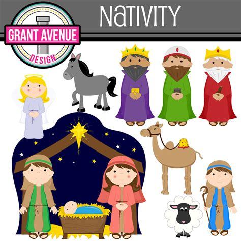 Nativity Clipart grant avenue design nativity clipart