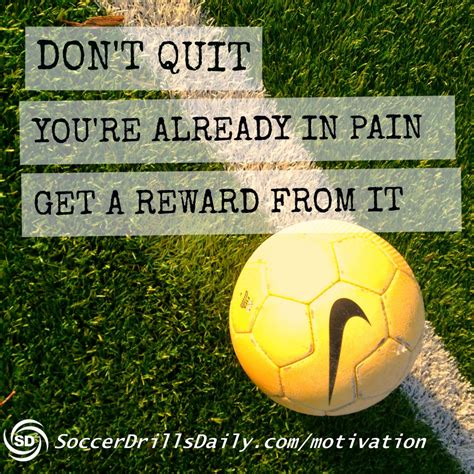 Soccer Quotes Best Soccer Motivational Quotes Quotesgram