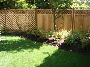 Fencing Ideas For Small Gardens Garden Fencing Home Design Ideas