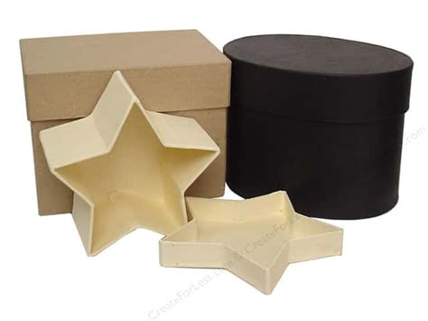 Craft Paper Mache Boxes - paper mache box by craft pedlars createforless