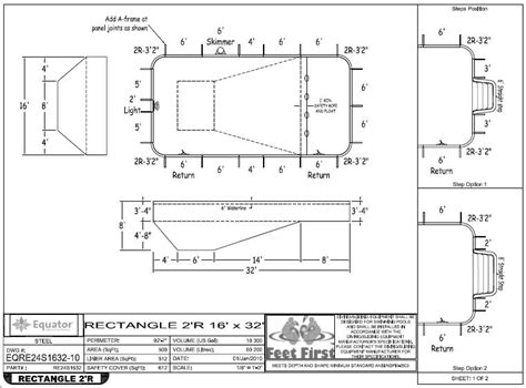 Inground Pool Design Plans Specs For Building Your Pool Spp Inground Pool Kit Blog