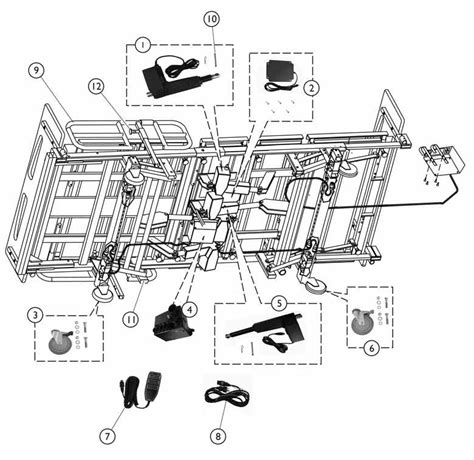 invacare hospital bed parts invacare hospital bed wiring diagram hill rom bed diagram