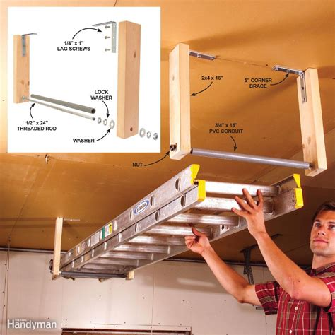 11 easy garage space saving ideas the family handyman
