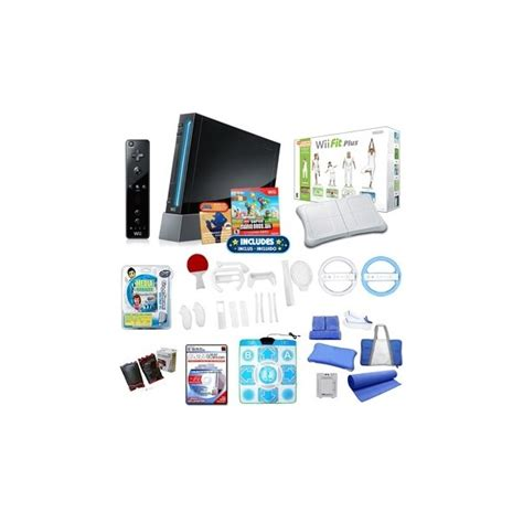 nintendo wii console bundle with wii fit plus pack wii fit plus bundle lookup beforebuying