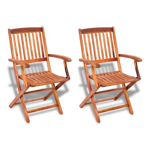 folding dining chairs vidaxl co uk 2 pcs wood folding dining chair