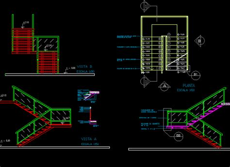 staircase section dwg file basic staircase dwg section for autocad designs cad