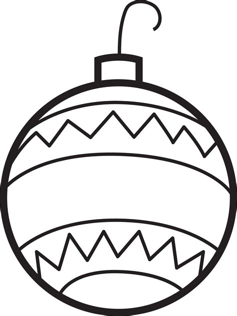 print 4220 christmas ornament coloring page jpg mpm