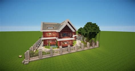 who builds homes traditional house minecraft house design