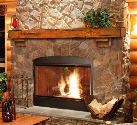 rustic fireplaces ideas for decorating the rustic fireplace mantels
