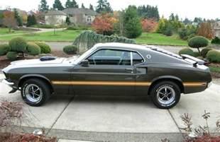 1969 Mustang Mach 1 Black Black Jade Green 1969 Mach 1 Ford Mustang Fastback Mustangattitude Com Photo Detail