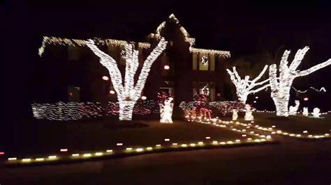 pecan grove christmas lights christmas lights hayride through pecan grove 2016 youtube