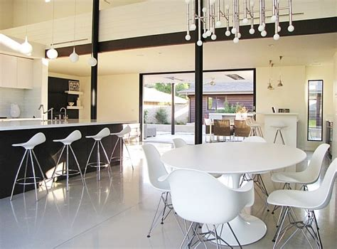 a chic 21st century modern kitchen by the inman company 10 trendy bar and counter stools to complete your modern