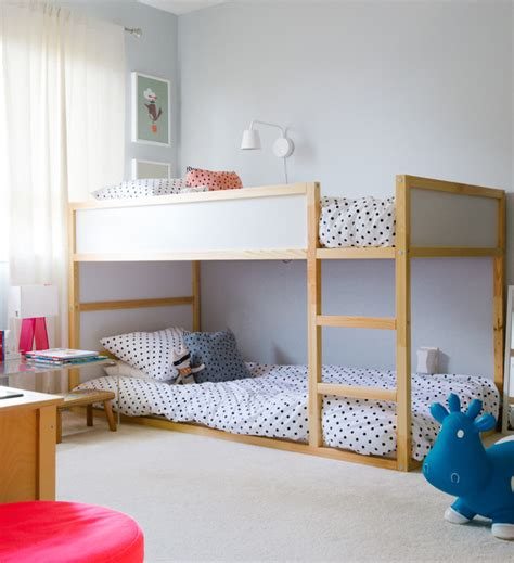 bunk bed fan bunk beds for teens kids rustic with built in storage bunk