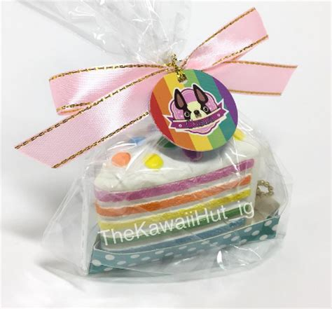 Squishy Licensed Chawa Mini Rainbow Cake Original the kawaii hut chawa mini rainbow cake squishy