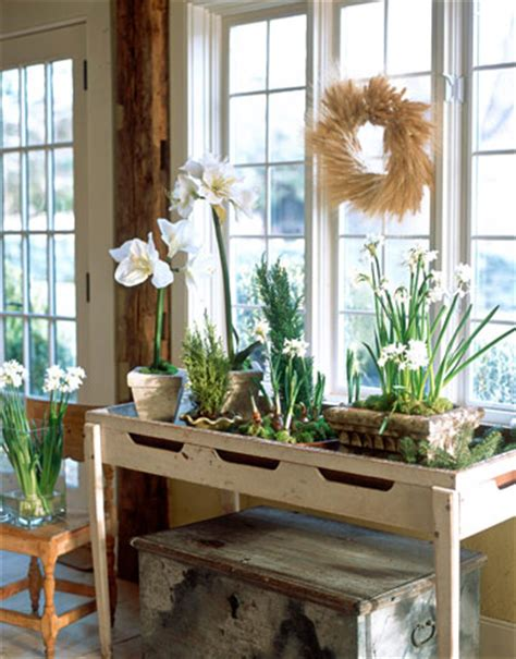 Home Interiors Party Catalog Rustic Console For Plants Katy Elliott