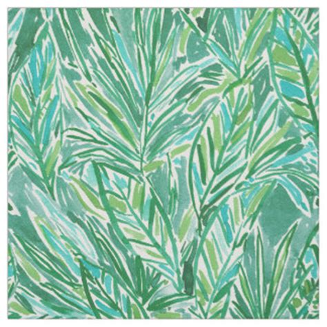 jungle pattern fabric uk tropical fabric for sewing quilting crafts zazzle co uk