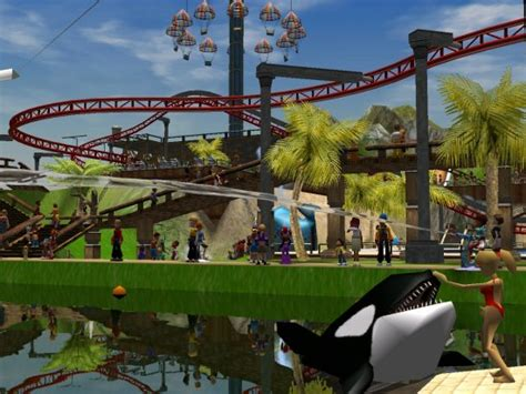 swan boats theme park tycoon 2 review e3 2005 atari line up industry hexus net
