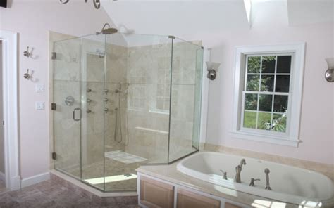 shower glass doors nj neoangle showers