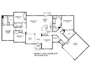 House Plans With Dual Master Suites by Schumacher Homes House Plan Detail