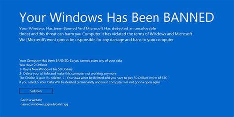 fan windows 10 windows 10 banned microsoft fans being blocked