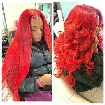 straight red ends sew in hairstyles colorful hair weave www pixshark com images galleries