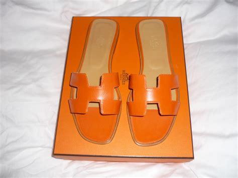 Sandal Wedges Selop Hermes Orange Diskon ode to hermes shoes page 2 purseforum