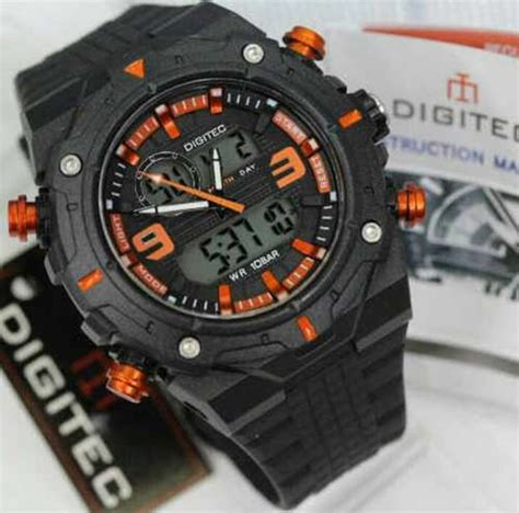 Digitec Dg 3025t Original Black List Gold jual jam tangan digitec dg 3013 original terbaru