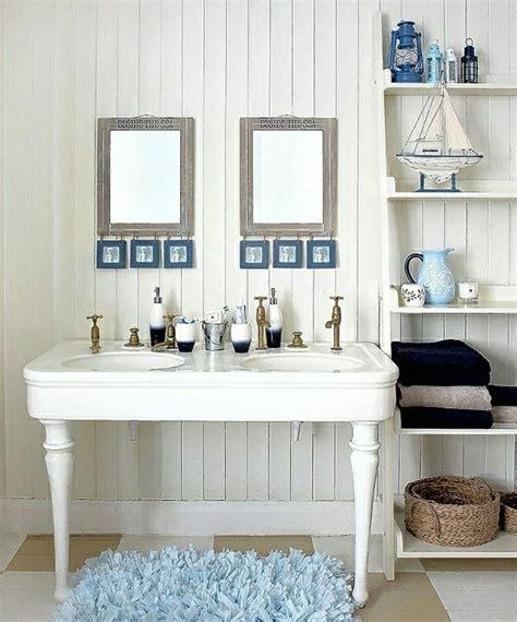 Badezimmer Deko In Blau by Badezimmer Deko Ideen Shabby Teppich Blau Schlafzimmer