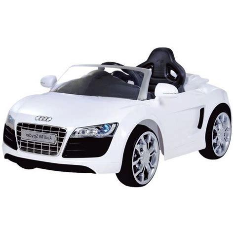 si鑒e enfant voiture audi r8 spydster blanc voiture 233 lectrique enfant achat